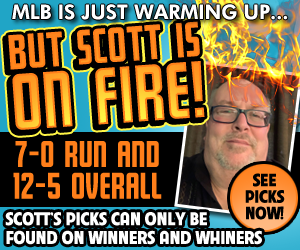 Ad: Click to buy Scott Steehn's Premium Picks!
