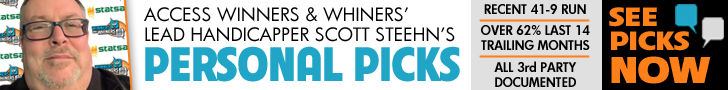 Ad: Click buy Scott Steehn's Premium Picks!